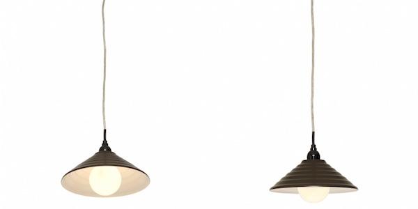 ヤザワ ペンダントライト ブラウン E26 電球なし(1灯)