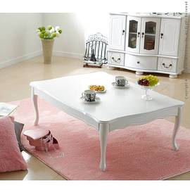 姫系 折れ脚式猫脚テーブル