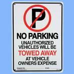 送料無料 プラスティックサインボード  CA-26 駐車禁止