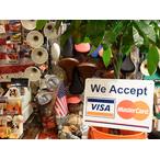 送料無料 プラスティックサインボード CA-37 VisaとMasterCard使えます