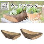横長のデザインがおしゃれな ウッドプランター02 Sサイズ 多肉植物や塊根植物などにピッタリ!