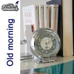 世田谷ベースにありそうな なんだか懐かしい レトロ感あふれるデザインの目覚し時計   OLD MORNING