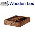 カトラリーケースに、玄関まわりに置いて小物のや郵便物の収納に、多肉植物にもピッタリ ダルトン DULTON WOODEN BOX ORGANIZER BOX NATURAL