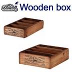 カラトリーケースに、玄関まわりに置いて小物のや郵便物の収納に、多肉植物にもピッタリ ダルトン DULTON WOODEN BOX POSTCARDS NATURAL