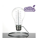 ダルトン DULTONブランド BULB THERMOMETER(電球型温度計) インダストリアルデザイン
