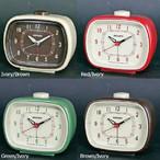 世田谷ベースにありそうな なんだか懐かしい レトロ感あふれるデザインの目覚し時計  CLASSIC BELL