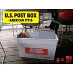 衣類や書類入れに!U.S.POST BOX【USポストボックス】全3色