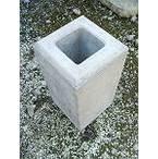 ウッドデッキ材10万円以上と同時購入の場合送料無料 フェンスブロック(小) 70角用 (12.0kg) 【送料別】