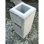 ウッドデッキ材5万円以上と同時購入の場合送料無料 フェンスブロック(大) 90角用 (24.0kg) 【送料別】