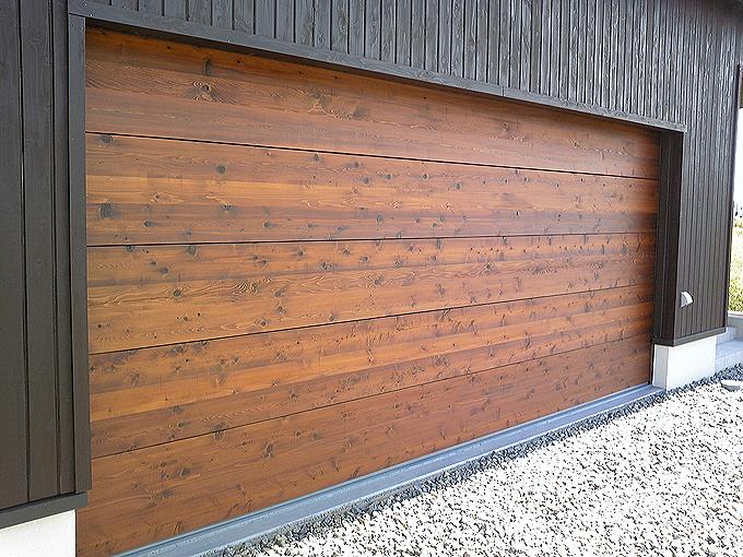 木製シャッター 施工例